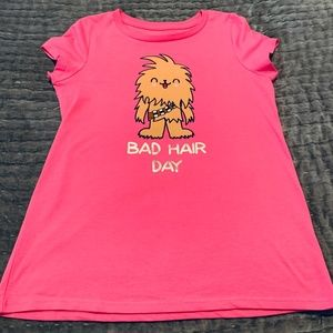 Authentic Disney Star Wars Girls' Shirt NWOT